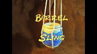 Barrel Sling 4 Legged How to Tie Four Legged Barrel Sling Barrel Sling (4 Legged) Bear Barrel Sling