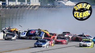 Watch Dale dodge the 'Dega disaster