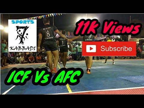 AFC Anagai Vs ICF Chennai | Mat Match | Final | Sports7 Kabbadi | Kabbadi| 2018