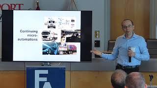Seminar - Automation in Transport - Tim Schwanen, University of Oxford 2
