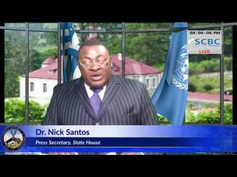 DR. NICK SANTOS  STATE HOUSE SECRETARY OF AMBAZONIA