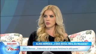 """Alina Borcea: """"Fara sotul meu, eu nu exist"""""""