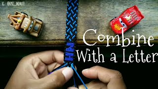 How to Combine a Friendship-Bracelets with Letter - #tutorials #handmade