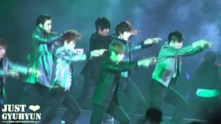 [JustGyuhyun]120219 Super Show 4 in Singapore - Opera