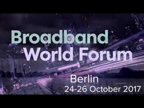 The Future of Network Connectivity is at Broadband World Forum