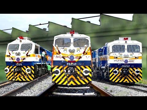 Brand New LOCOMOTIVE | 2000th EMD | KJM Diesel Shed | Indian Railways
