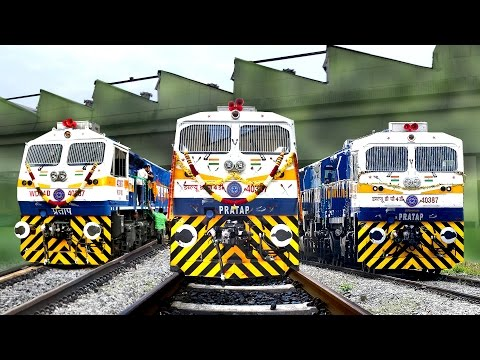 Thumbnail: Brand New LOCOMOTIVE | 2000th EMD | KJM Diesel Shed | Indian Railways