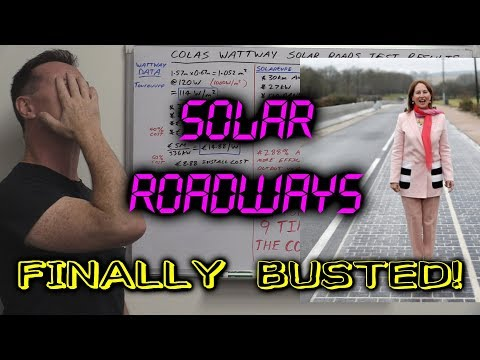 EEVblog #1047 - Solar Roadways FINALLY BUSTED! (Colas Wattway)