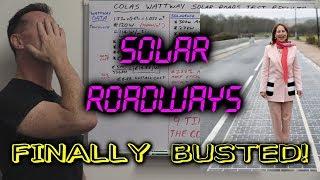 EEVblog #1047 - Solar Roadways FINALLY BUSTED! (Colas Wattway)
