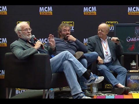 Game Of Thrones: Mace, Meryn & Barristan Interview @ MCM Manchester