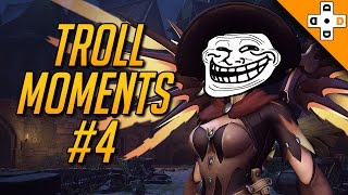 Overwatch Troll Moments - Best Taunts, Bad Manners, & Rage | Highlights Montage