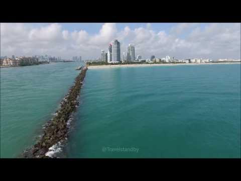 4K South Beach MIAMI FLORIDA