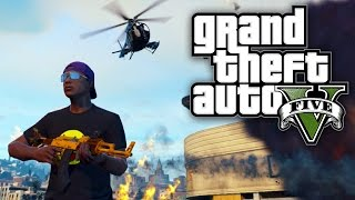GTA 5 Online - ME VS A HELICOPTER, A TANK & A JET?! (GTA V Online)