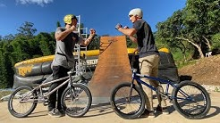 Ryan Williams VS Andrew Hutchison | MEGA RAMP CALLING THE SHOTS!