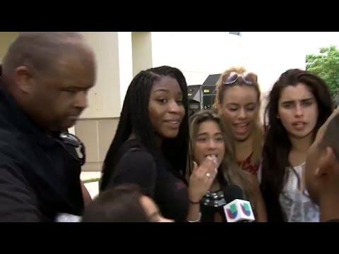 Video completo del lamentable incidente con el guardaespaldas de Fifth Harmony