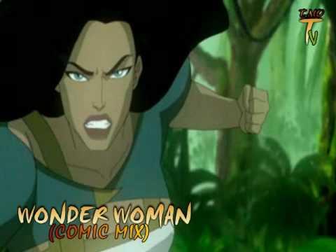 WONDER WOMAN (COMIC MIX)
