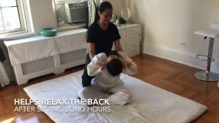 Thai Yoga massage NYC - Back Stretches
