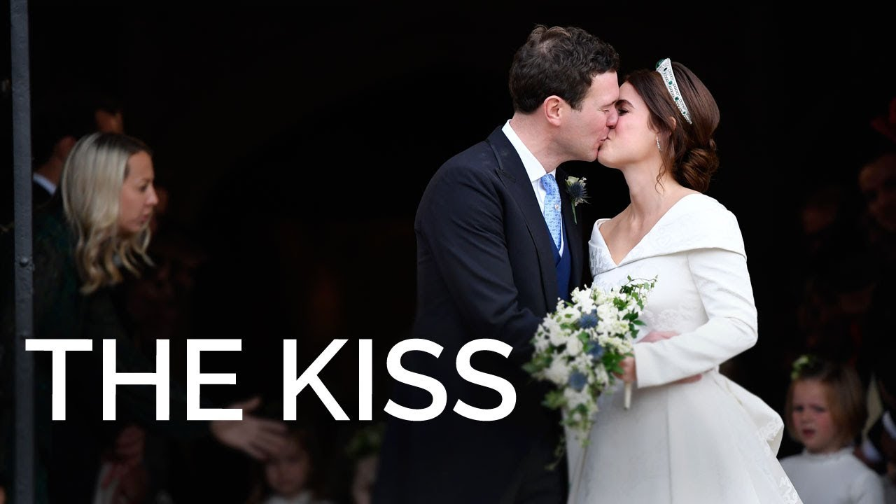 Royal Wedding Kiss.The Royal Wedding Sealed With A Kiss