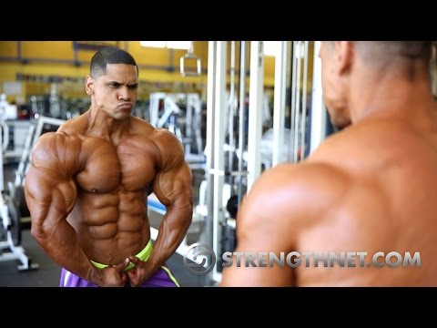 Orlando Maldonado Trains One Day After Becoming an IFBB Pro