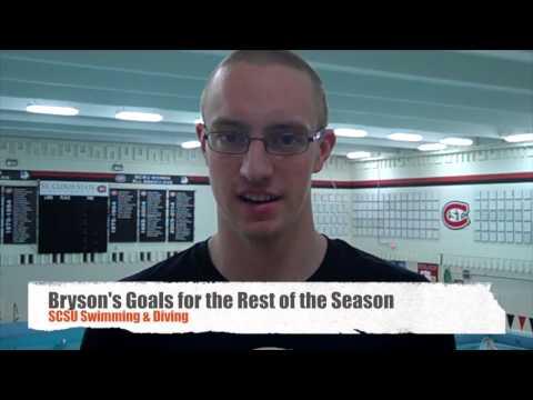 SCSU Swimmer Alex Bryson Interview