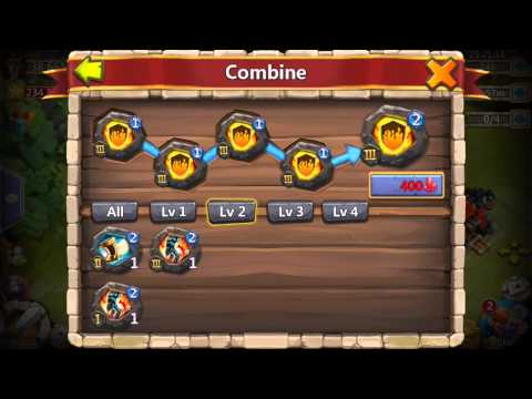 How To Combine Crests | Castle Clash