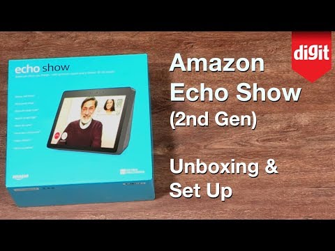 Amazon Echo Show (2nd Gen) Unboxing & How to Set Up