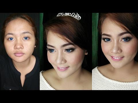 Wedding Makeup Tutorial | Makeup Pengantin Modern || iRachelicious (BAHASA)