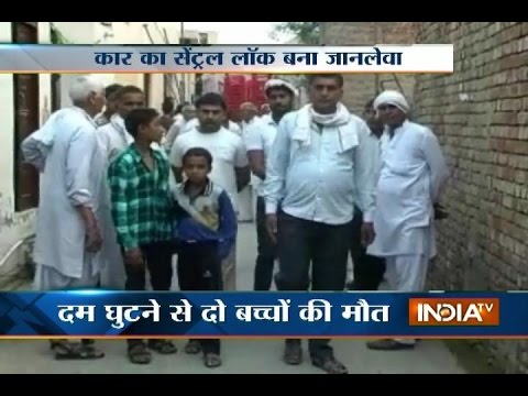 2 Children Suffocate to Death While Playing in Car in Haryana
