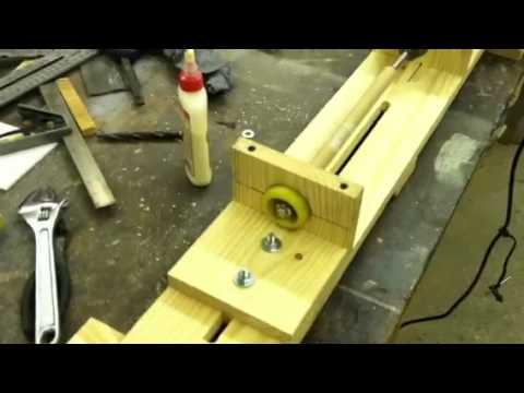 Homemade Wood Lathe 1