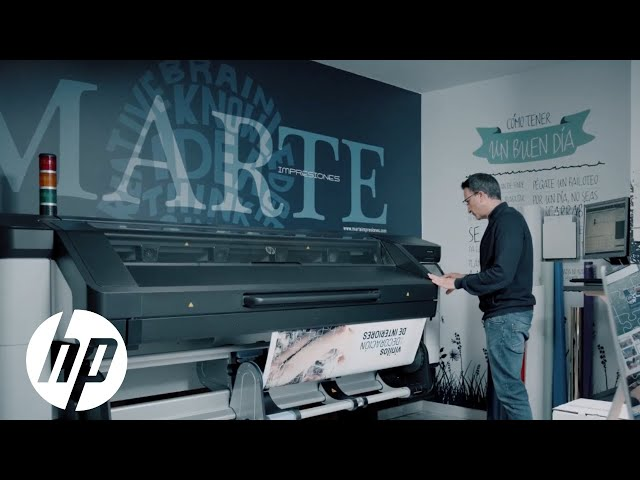 Marte Impresiones expands their business with their HP Latex 800 W | Equipped to Win Big | HP