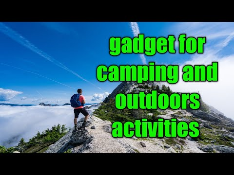 5 gadget for camping//solar gadget for camping // gadget for outdoor