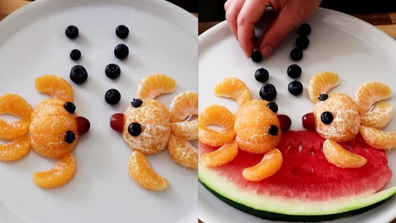 Super Fruits Decoration Ideas - Fruit Art