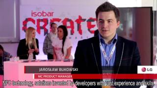 Isobar Create Warsaw - 15 new NFC applications in 30 hours