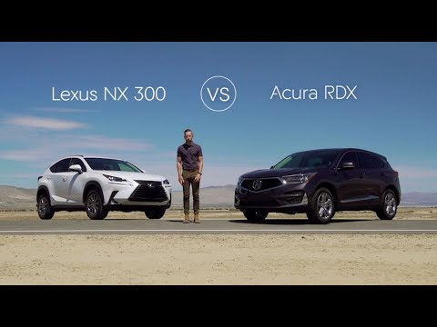 2019 Lexus NX 300 vs 2019 Acura RDX – Video Review Comparison