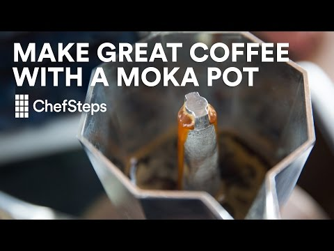 Make Great Coffee with a Moka Pot