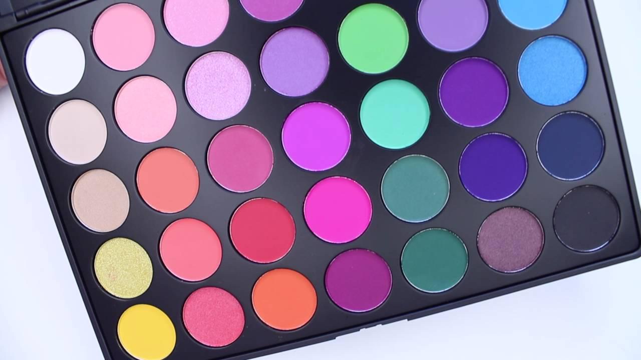Morphe Brushes 35b Color Glam Palette Swatches Youtube Magasinez les pinceaux et les jeux de pinceaux morphe chez sephora et trouvez le pinceau idéal pour. morphe brushes 35b color glam palette swatches