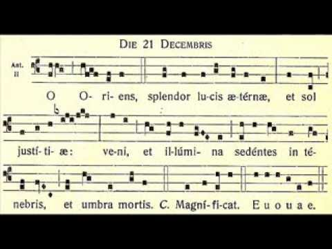 O Oriens - December 21
