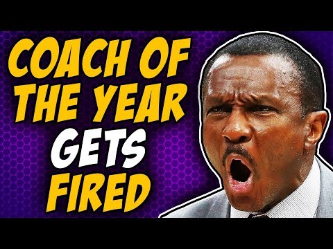 NBA Coach Of The Year Gets FIRED