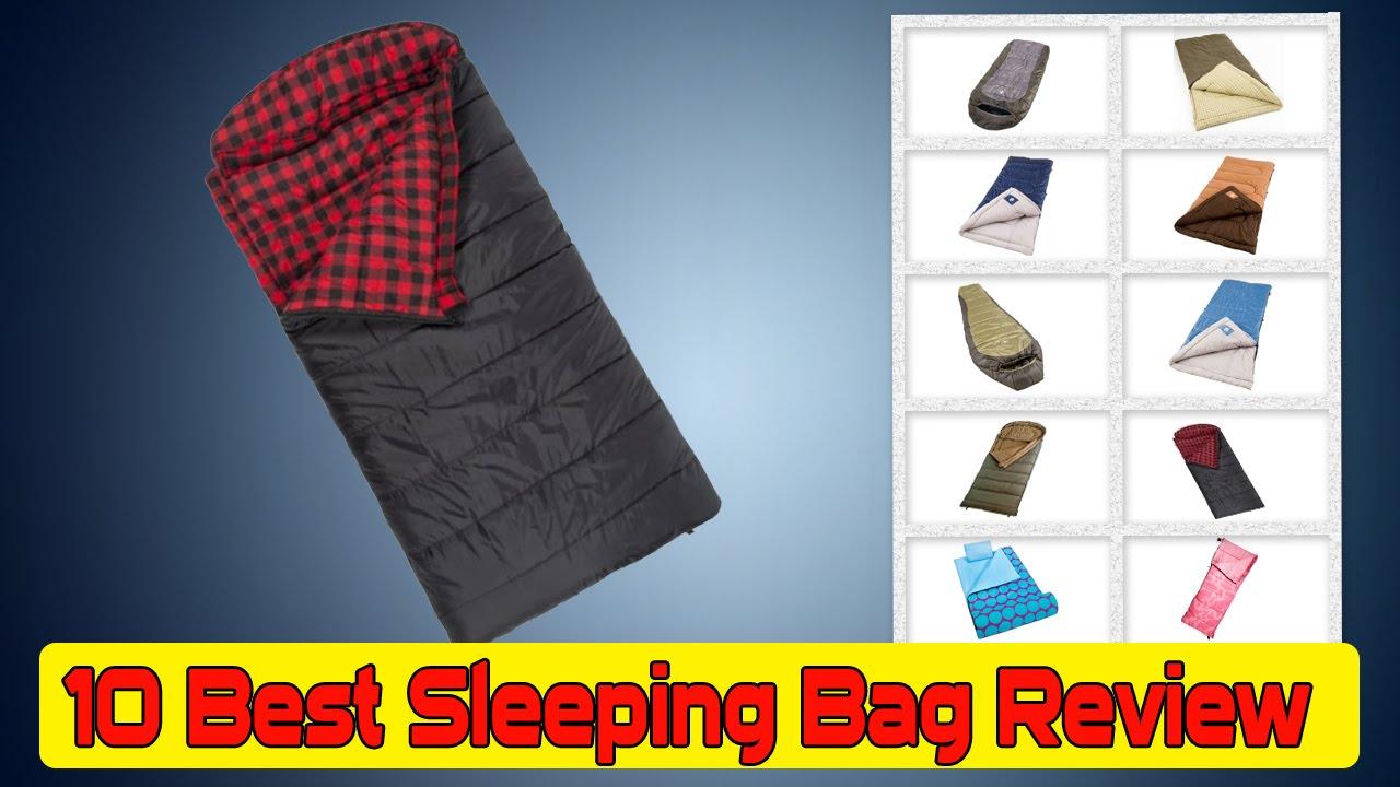 10 Best Sleeping Bag Review