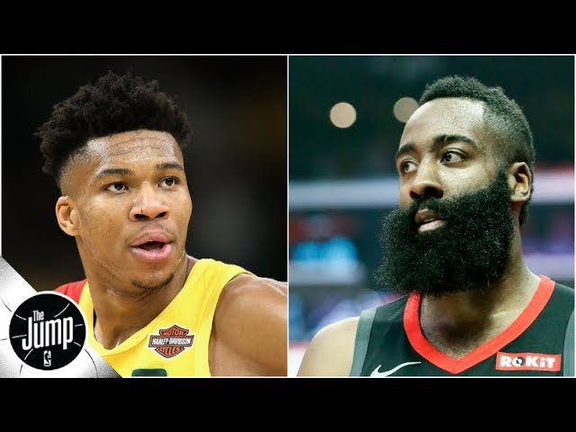 Who'd you rather have in the playoffs: Giannis or James Harden? | The Jump