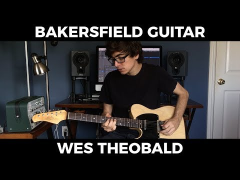 Bakersfield Country Guitar Lesson - Buck Owens Guitar Licks | Wes Theobald
