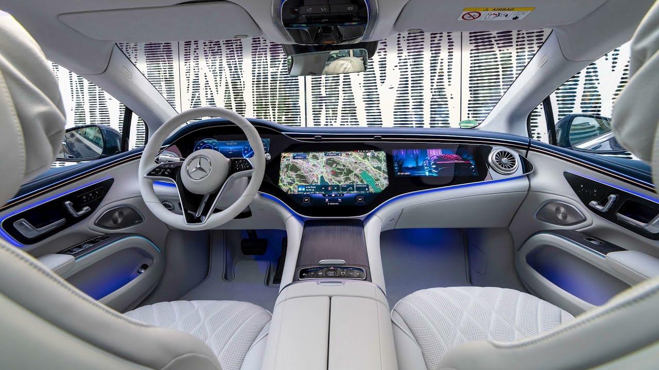 2022 Mercedes EQS - INTERIOR & DRIVE PILOT