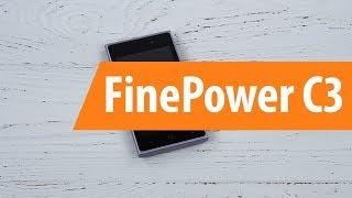 Распаковка FinePower C3 / Unboxing FinePower C3