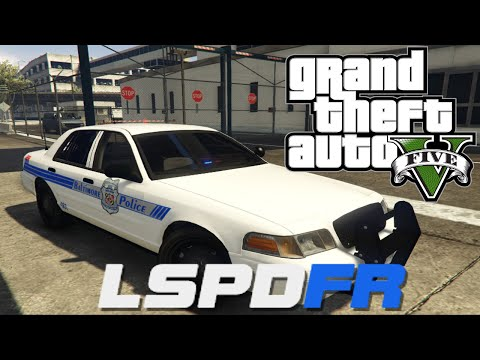 GTA V - LSPDFR 0.2b - Day 12 - Baltimore City Police