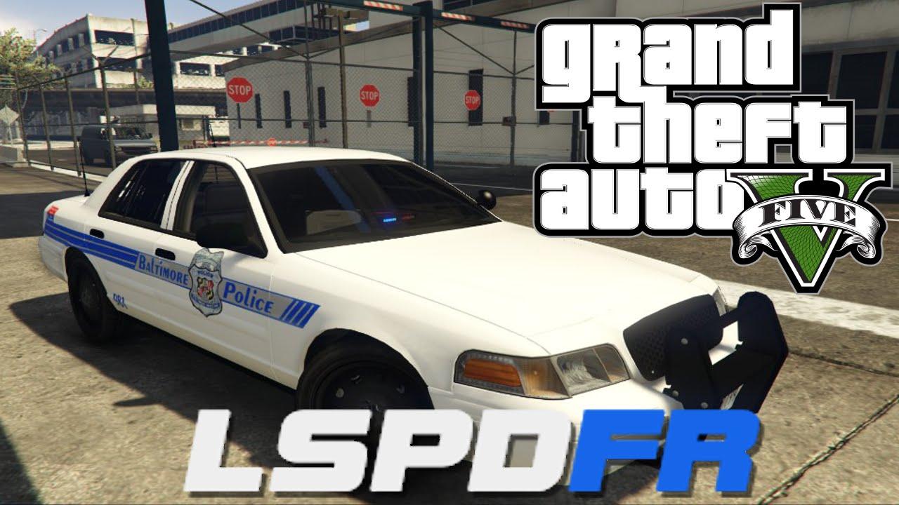 GTA V - LSPDFR 0 2b - Day 12 - Baltimore City Police