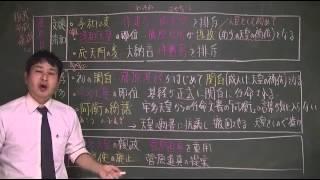 035 藤原北家の発展(教科書68) 日本史ストーリーノート第05話