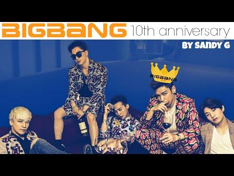 ♥ BIGBANG | 10TH anniversary tribute ♥ (MASHUP / REMIX) last mashup by sandy g