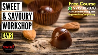 Free Online Sweet & Savoury Workshop|Day 2|Cooking Class| Visit www.swadcooking.com for registration