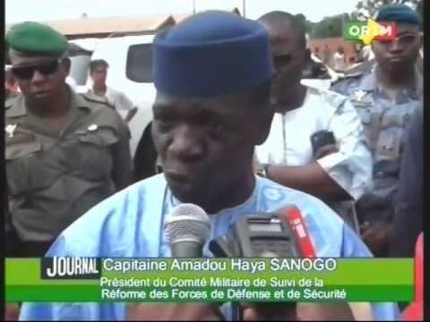 Présidentielle: le Capitaine Amadou Aya Sanogo a voté à Kati dans l'école qui porte son nom