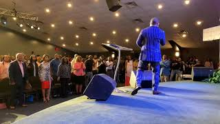 Gambar cover Crazy Praise Break with Pastor Kimberly Ray-Gavin at The Harvest Tabernacle Church!!! 5/12/19